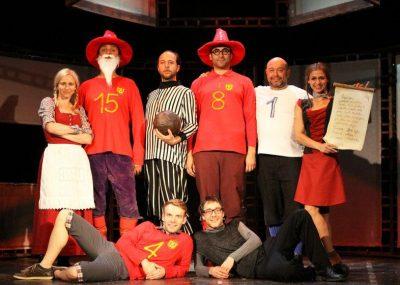Divadlo Aqualung: Nevídaní akademici